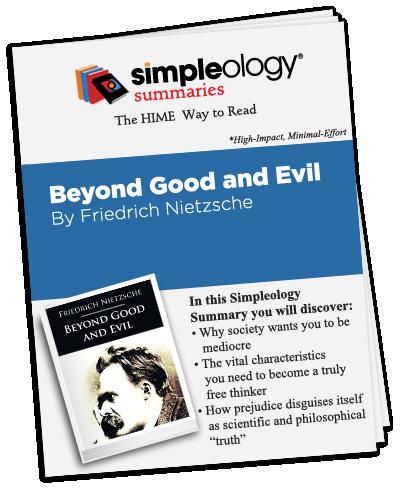 Beyond Good and Evil Summary