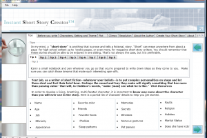 Instant Short Story Creator-Software Included!